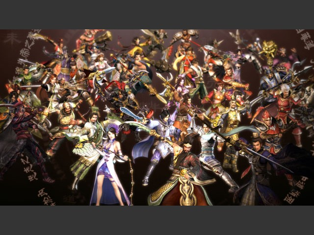 Box art - Dynasty Warriors 6 Empires