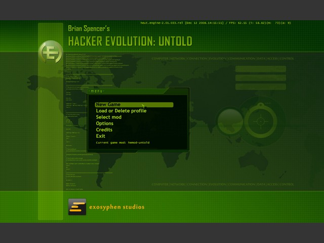 Box art - Hacker Evolution: Untold