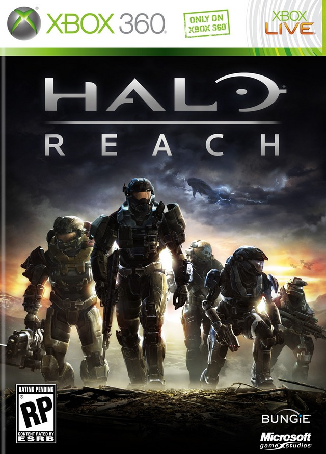 Box art - Halo: Reach