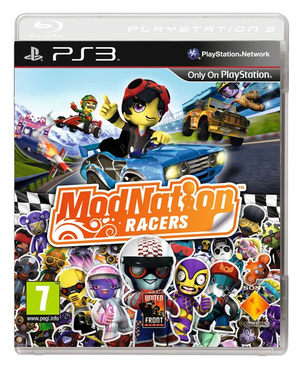 Box art - ModNation Racers