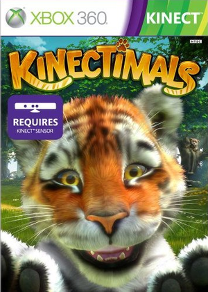 Box art - Kinectimals