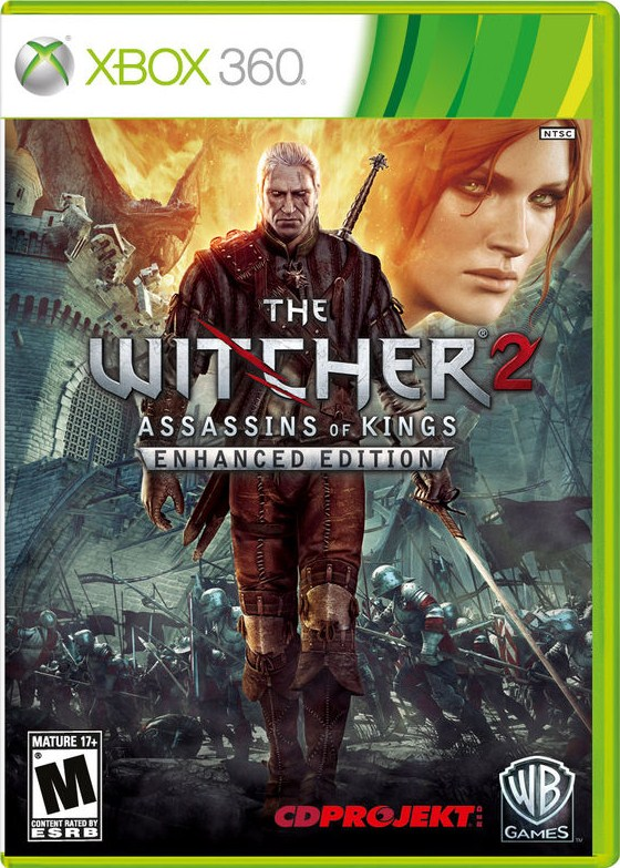 Box art - The Witcher 2: Assassins of Kings