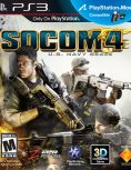 Box art - Socom 4: U.S. Navy Seals