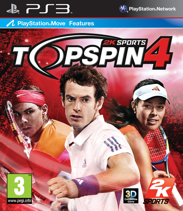 Box art - Top Spin 4