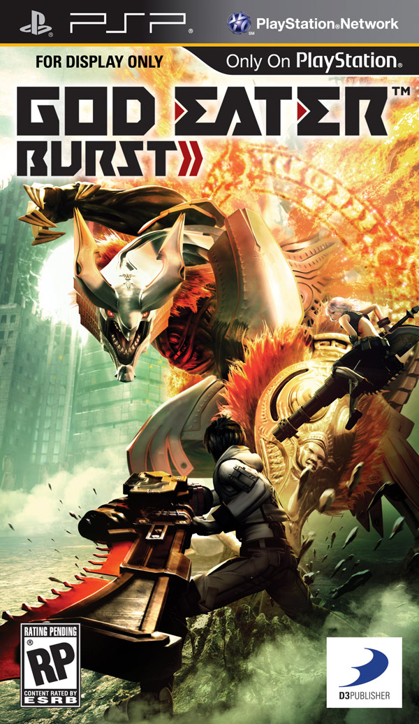 Box art - God Eater Burst