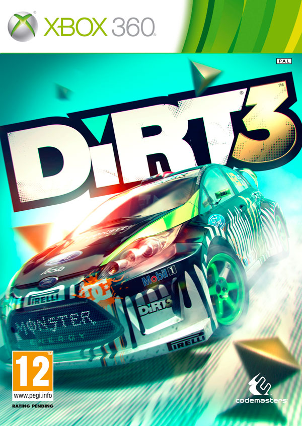 Box art - DiRT 3