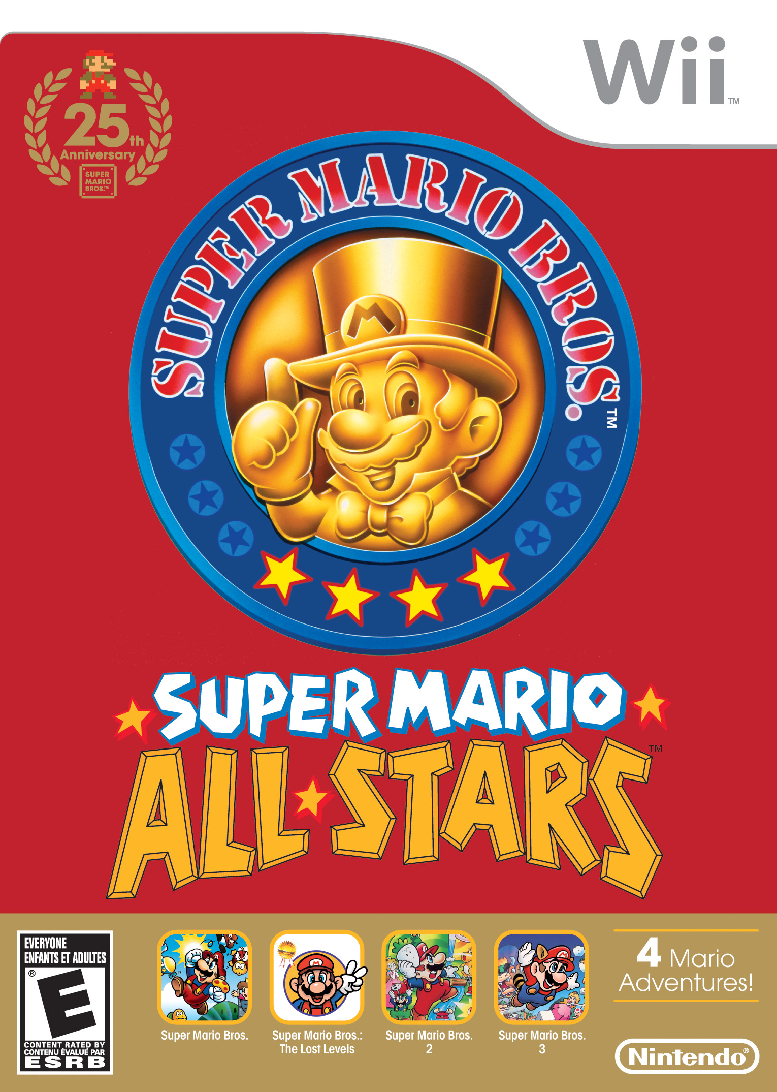 Box art - Super Mario All-Stars