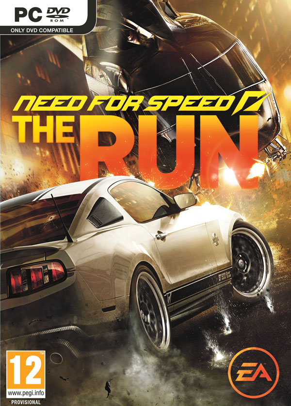 Box art - Need for Speed: The Run