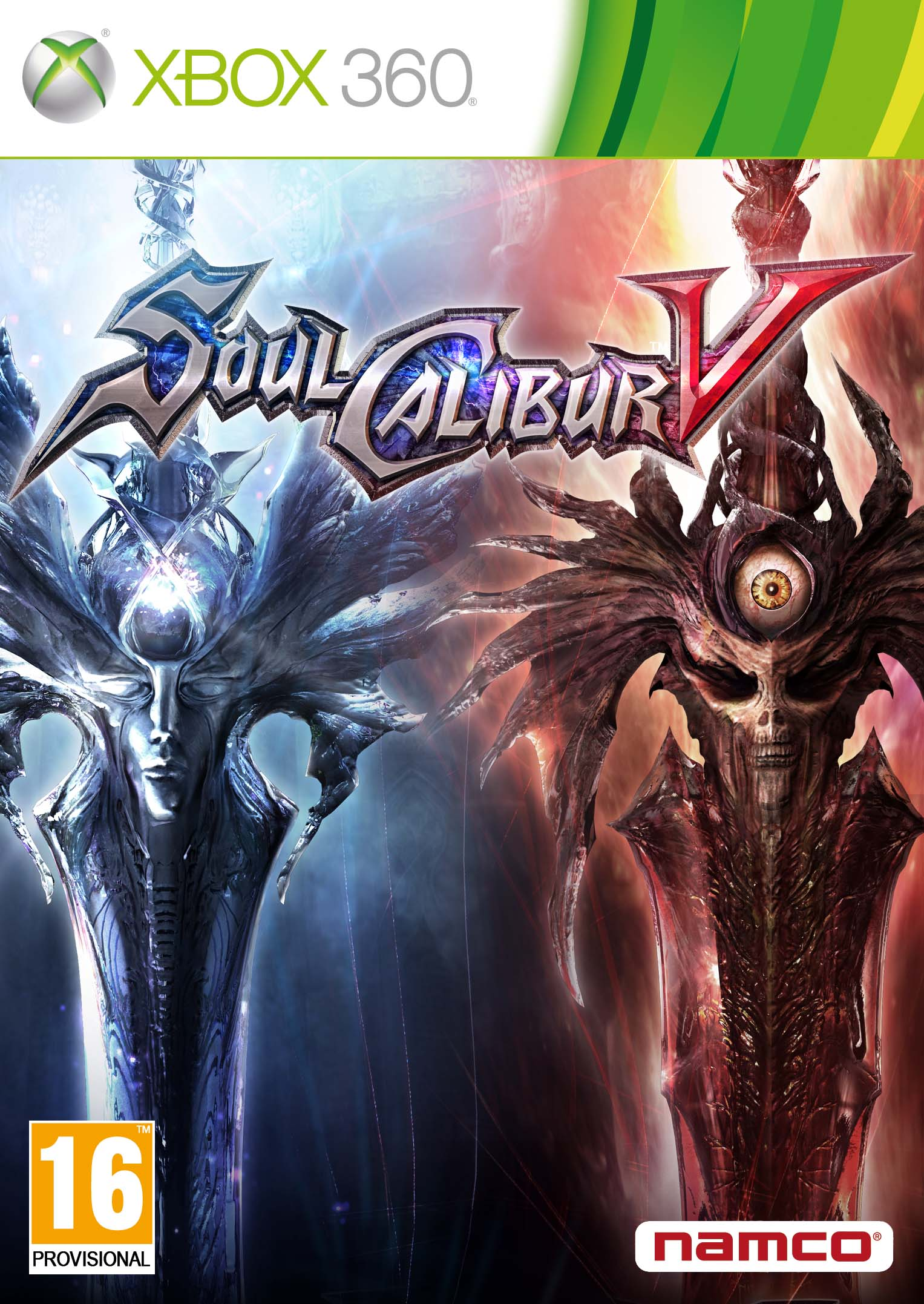 Box art - Soulcalibur V