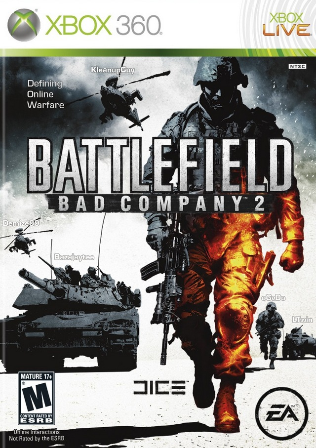 Box art - Battlefield: Bad Company 2