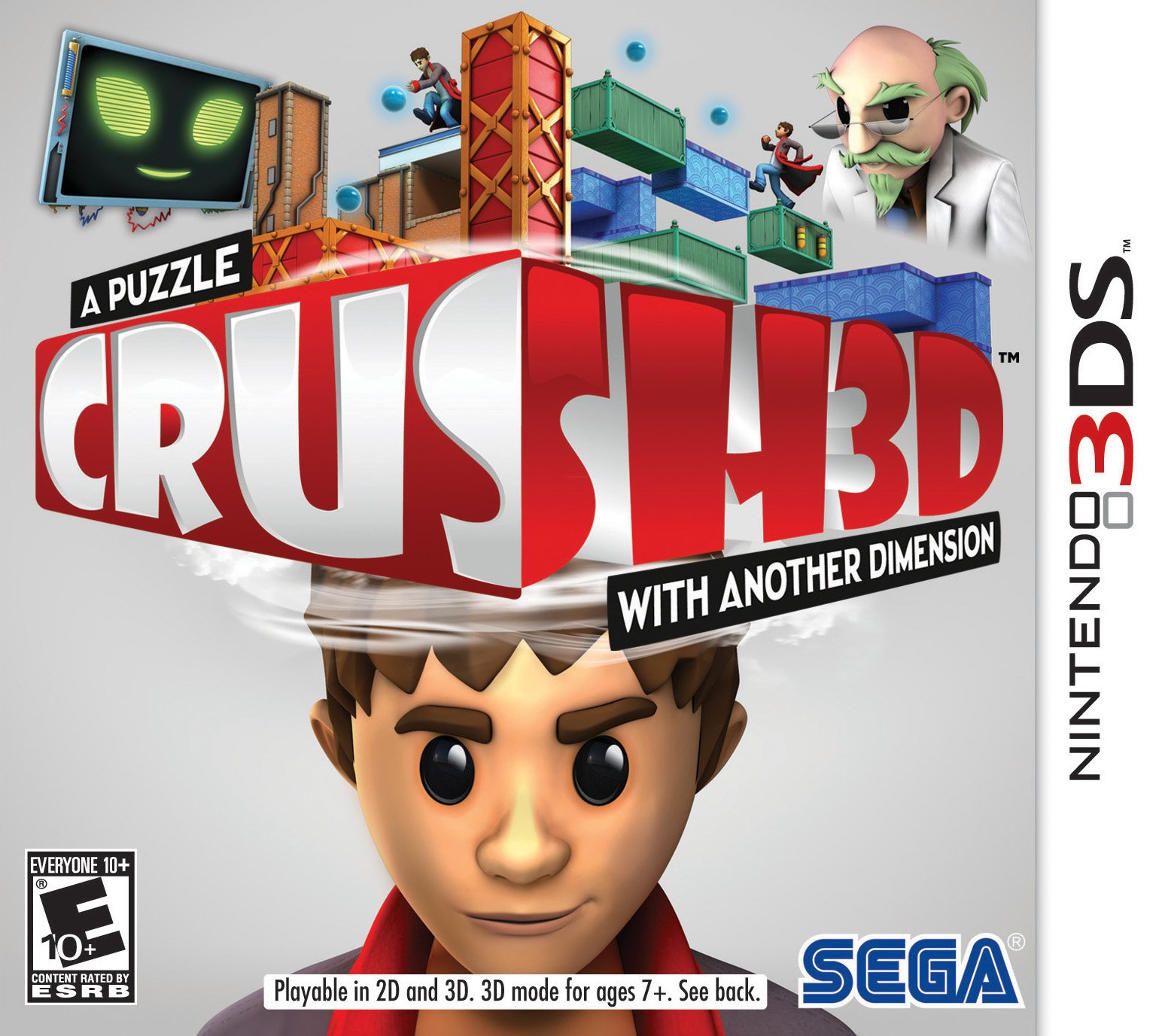 Box art - Crush 3D