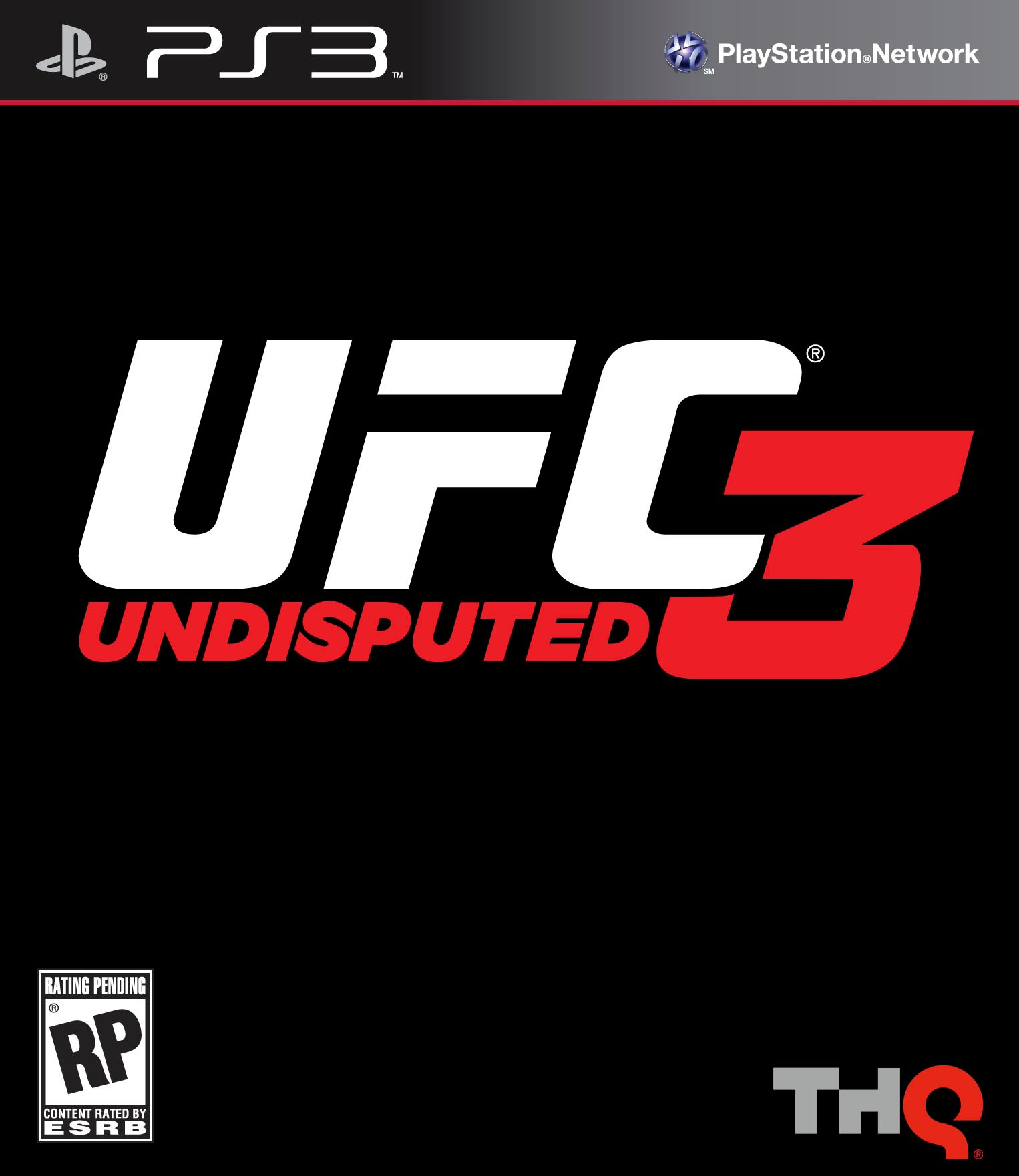 Box art - UFC Undisputed 3