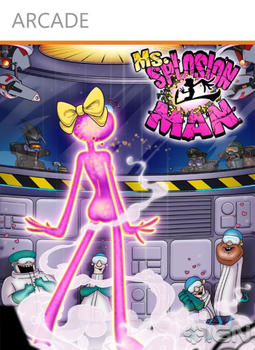 Box art - Ms. Splosion Man