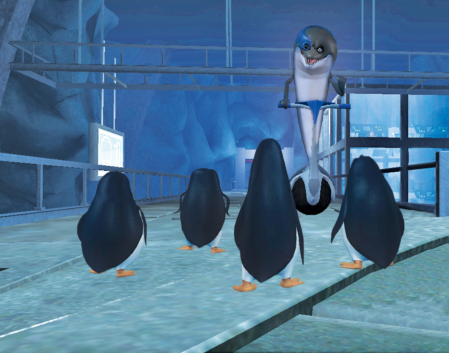 Box art - The Penguins of Madagascar: Dr. Blowhole Returns Again!