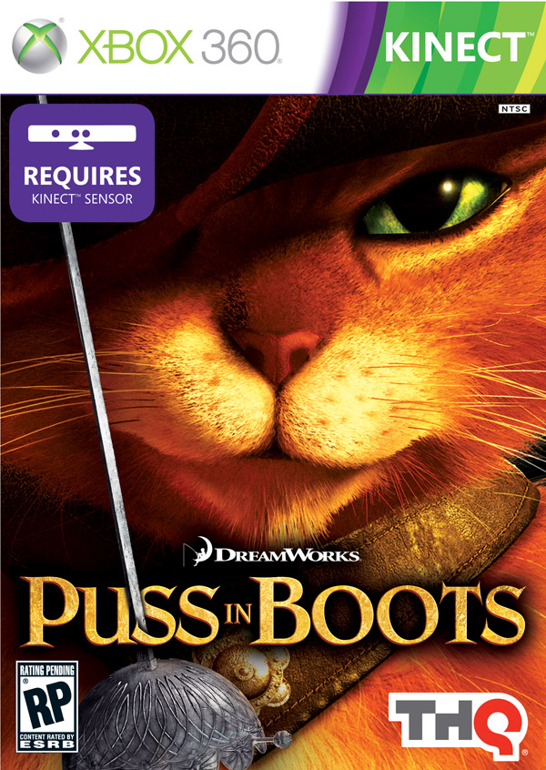 Box art - Puss in Boots
