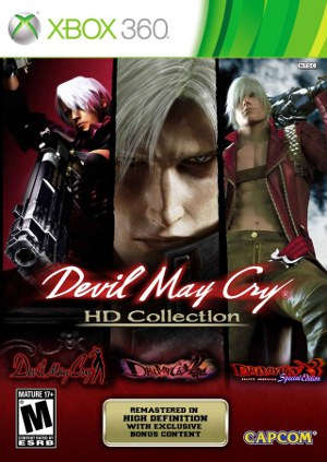 Box art - Devil May Cry HD Collection