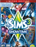 Box art - The Sims 3 Showtime