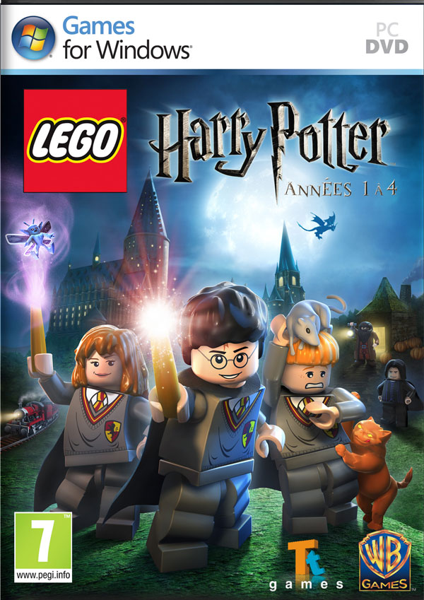 Box art - Lego Harry Potter: Years 1-4