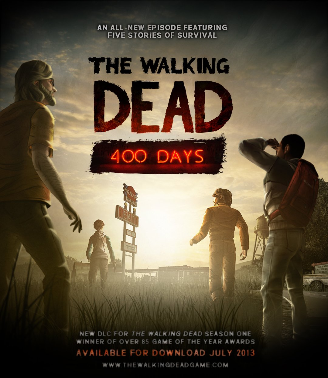 Box art - The Walking Dead