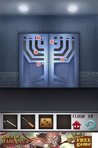 100 Floors How To Solve Level 18 Gamerevolution