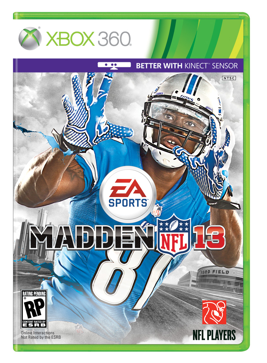 Box art - MADDEN NFL 13