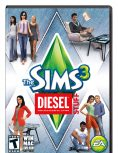 Box art - The Sims 3 Diesel Stuff Pack