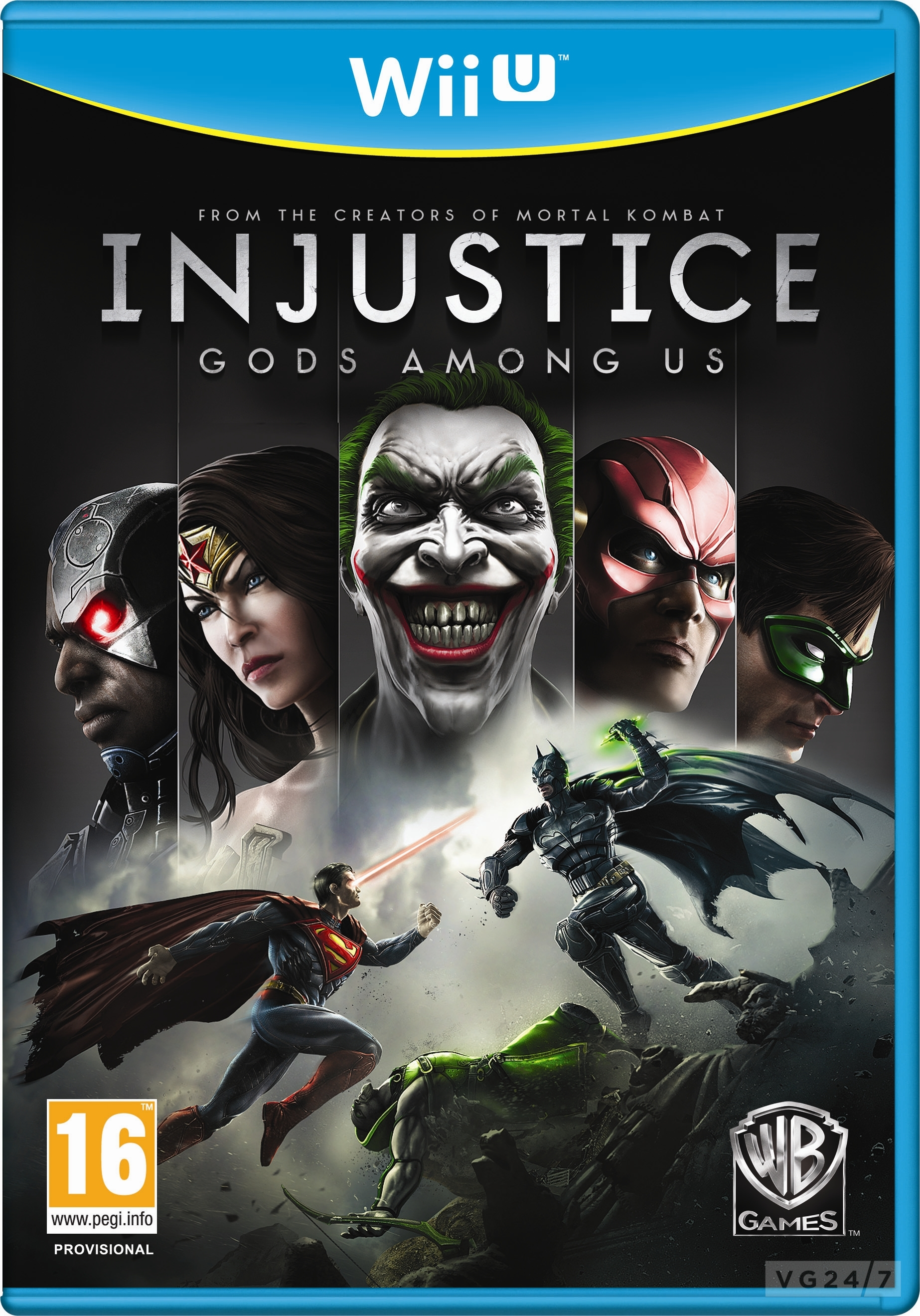 Box art - Injustice: Gods Among Us