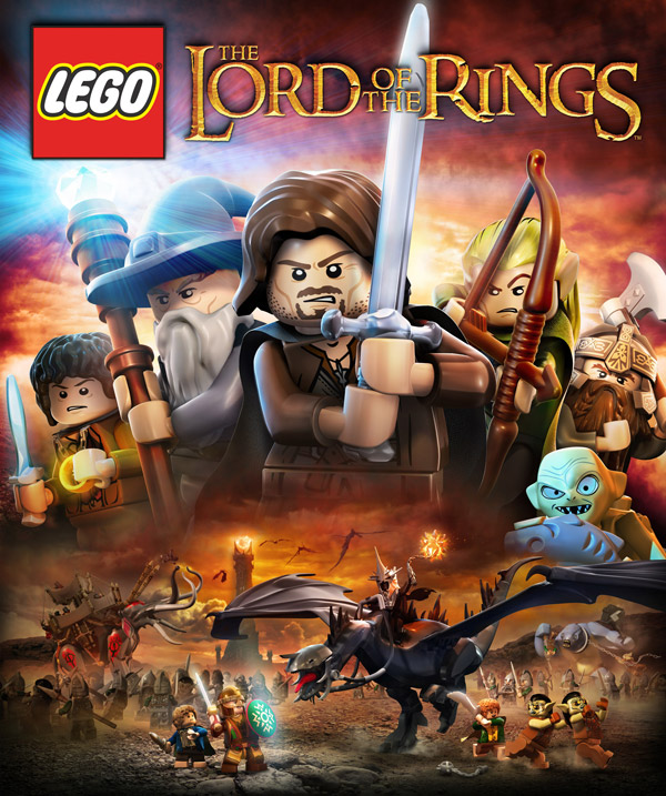 Box art - LEGO The Lord of the Rings