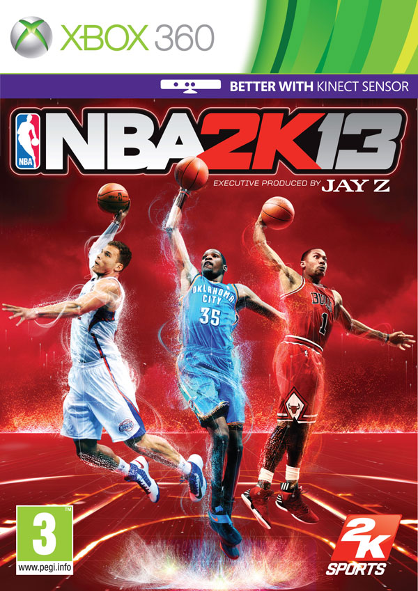 Box art - NBA 2K13