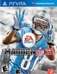Box art - Madden NFL 13 (Vita)