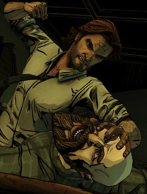 Box art - The Wolf Among Us