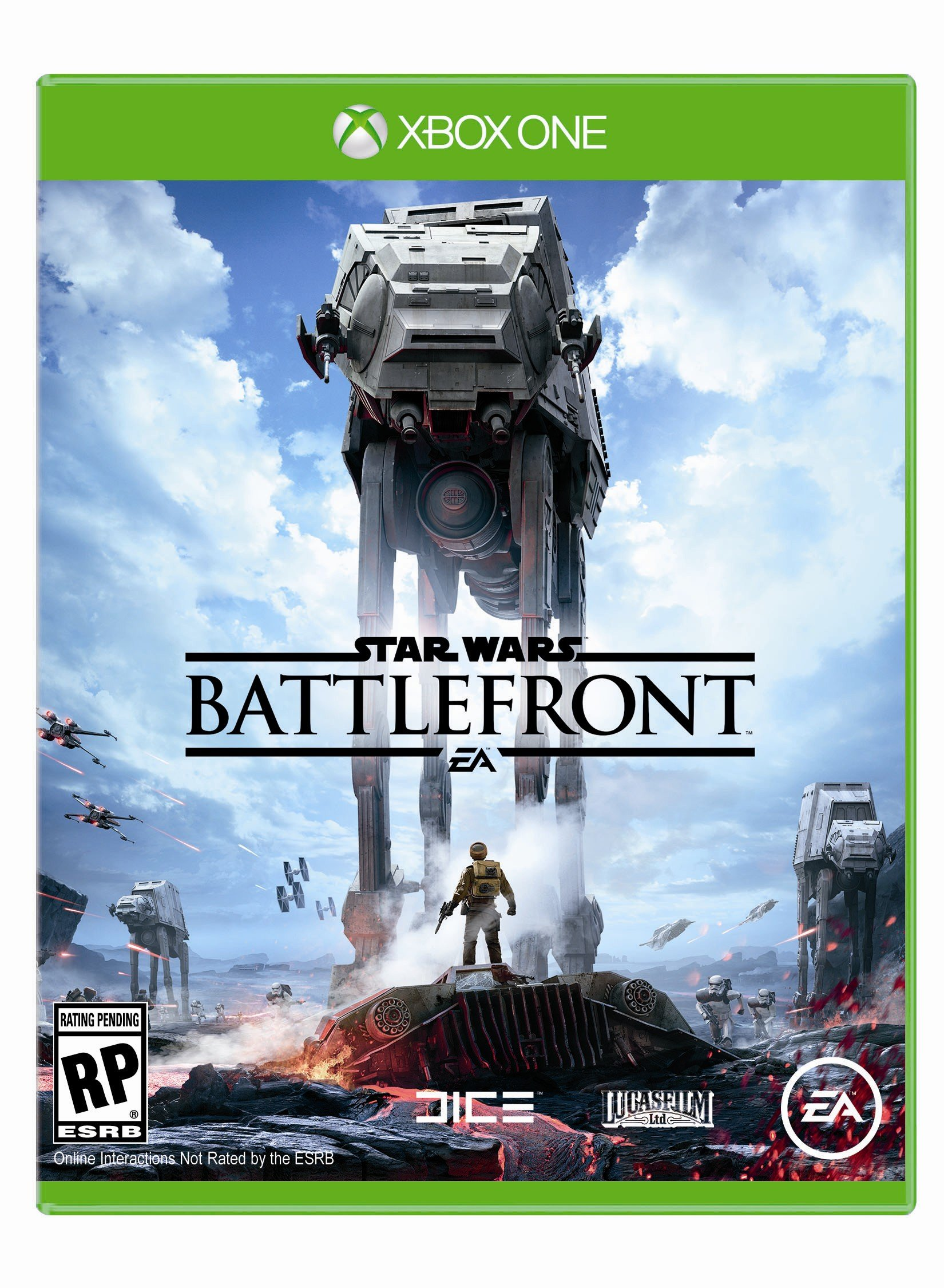 Box art - Star Wars: Battlefront (2015),Star Wars: Battlefront (2014)