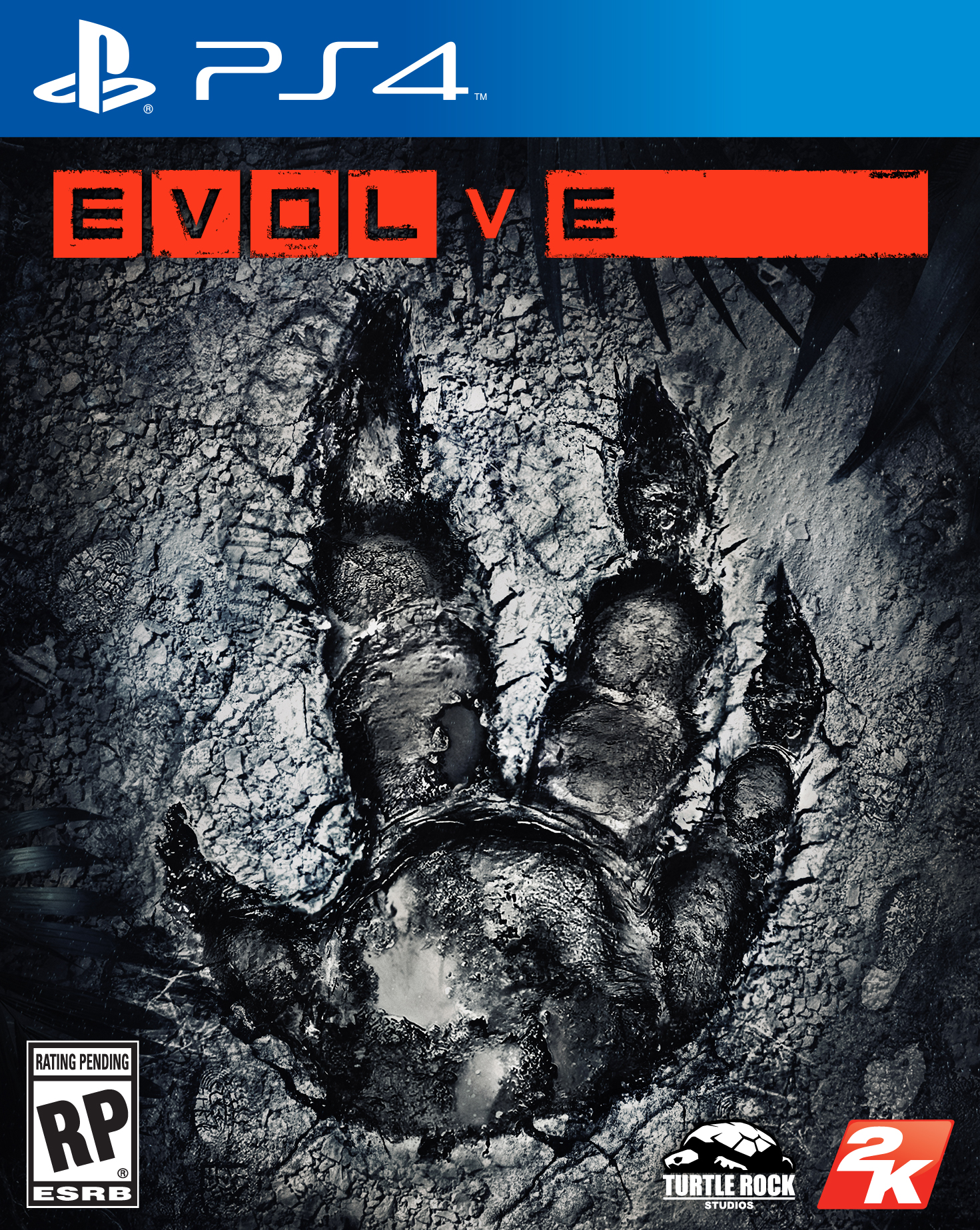 Box art - Evolve