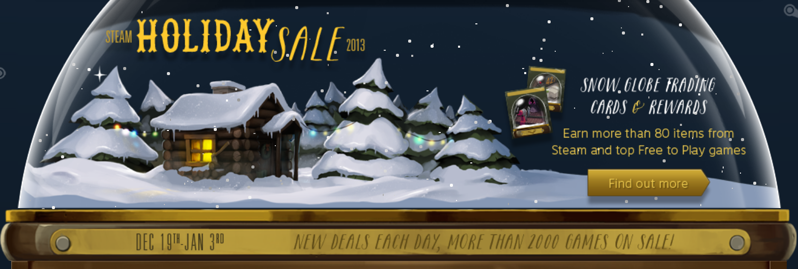 New Deals 12/31 + FREE GAMES] Valve Stuffs Stockings With Steam ...