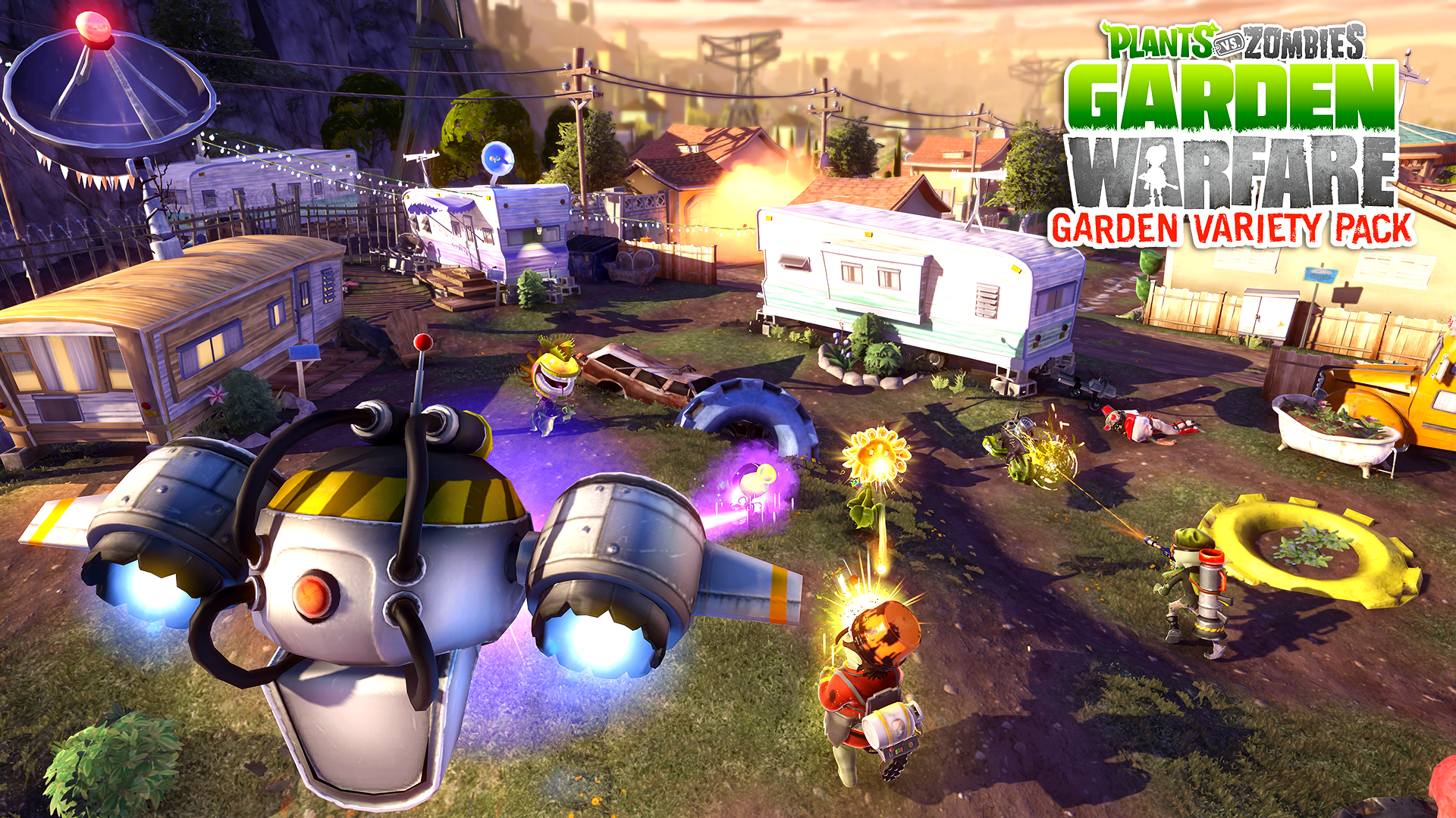 Update Trailer Plants Vs Zombies Garden Warfare Gets Free Dlc