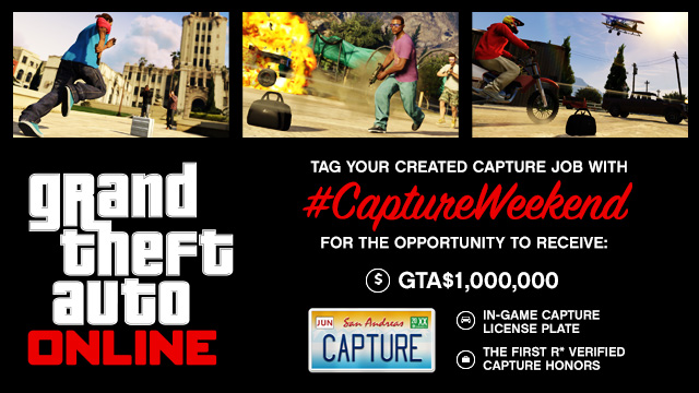 GTA Online Adds Capture Mode Creator, Has Over 4 Million