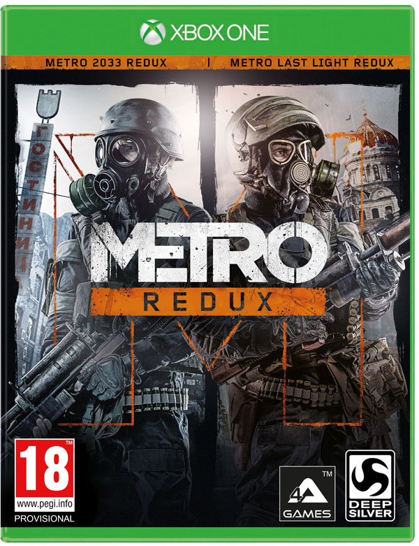 Box art - Metro Redux