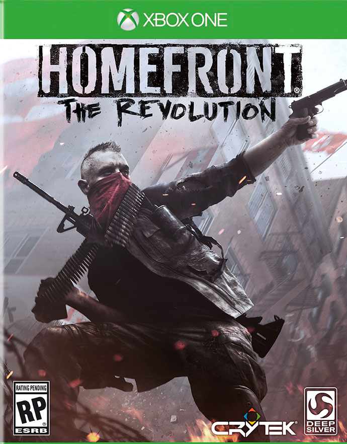 Box art - Homefront: The Revolution