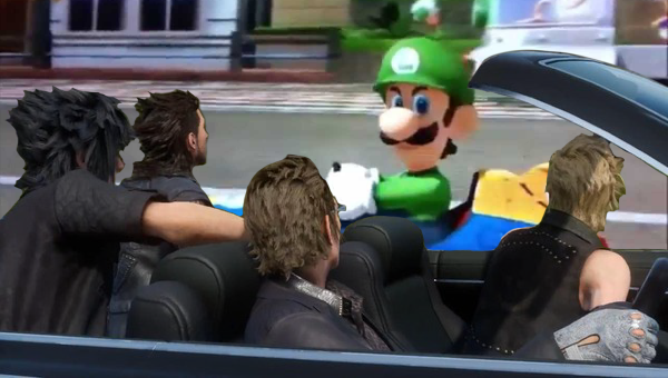 Final Fantasy XV: The Car Is a Party Member, Says Square Enix