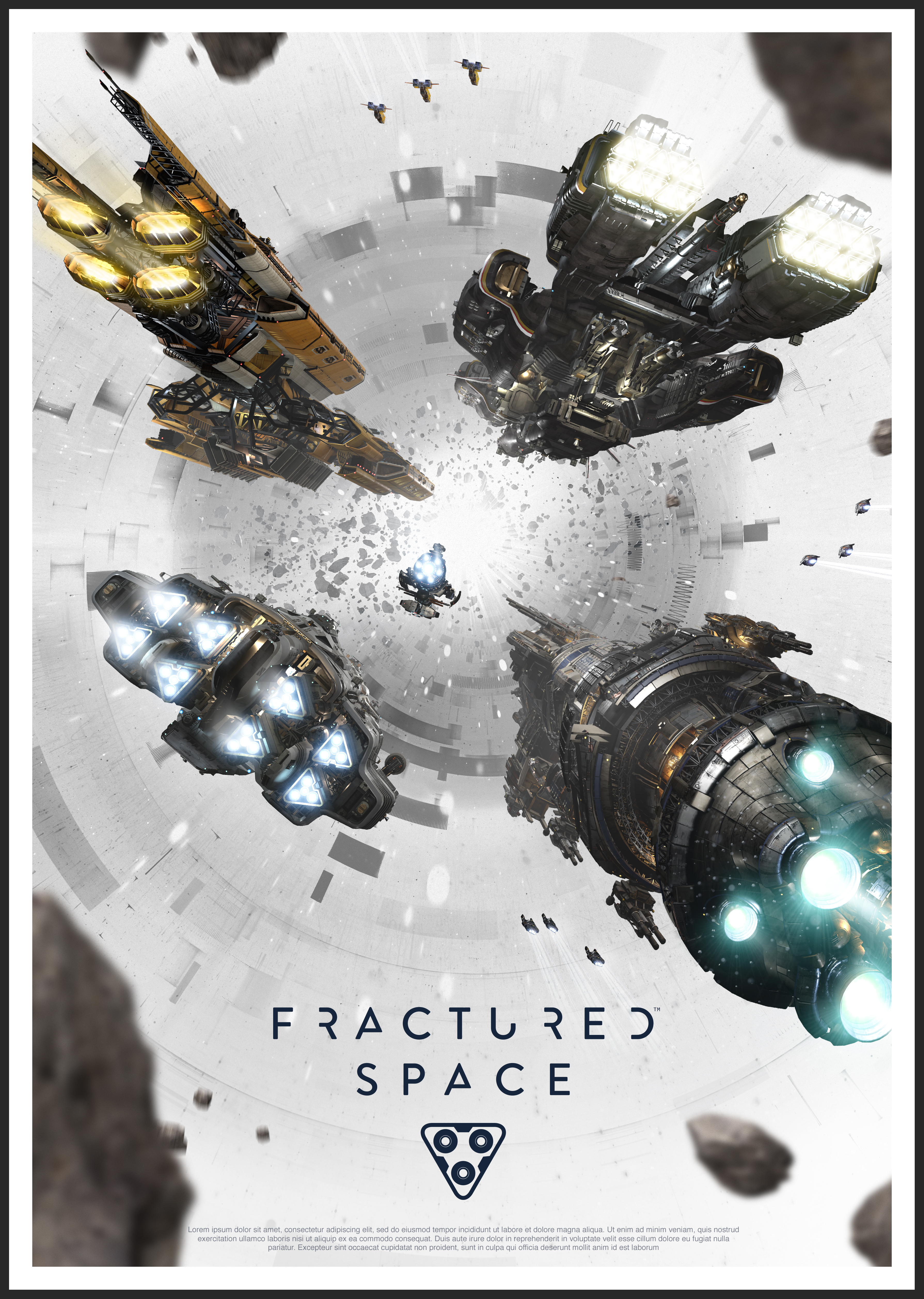 Box art - Fractured Space