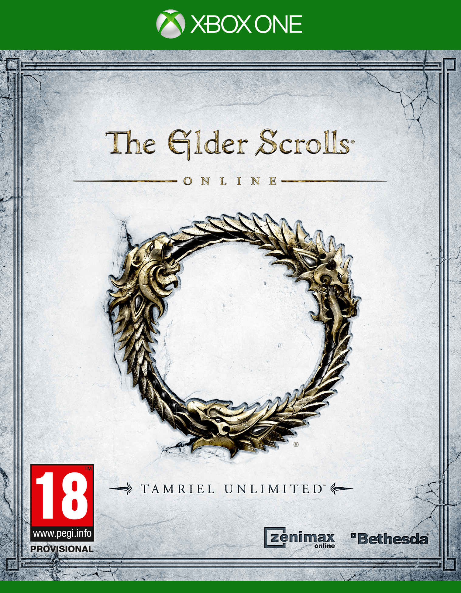 Box art - The Elder Scrolls Online: Tamriel Unlimited
