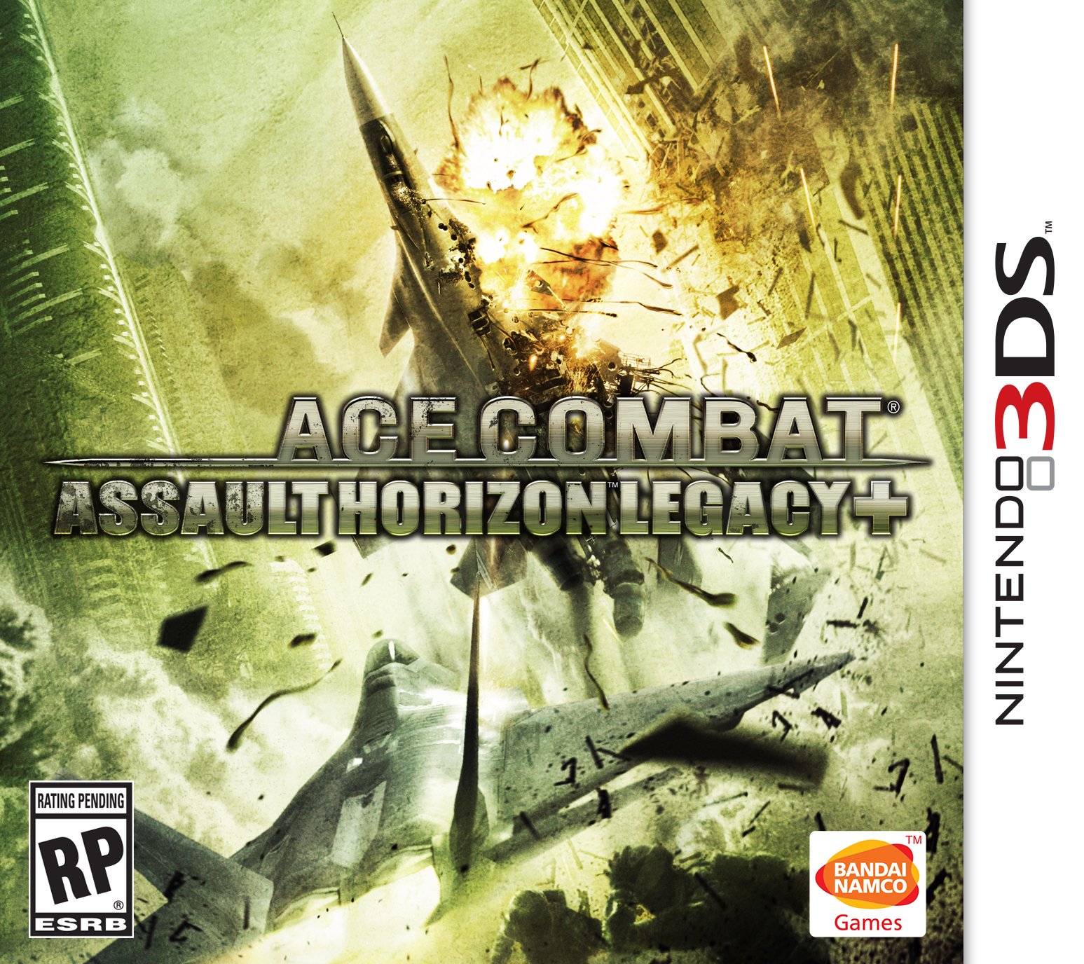 Box art - Ace Combat Assault Horizon Legacy Plus