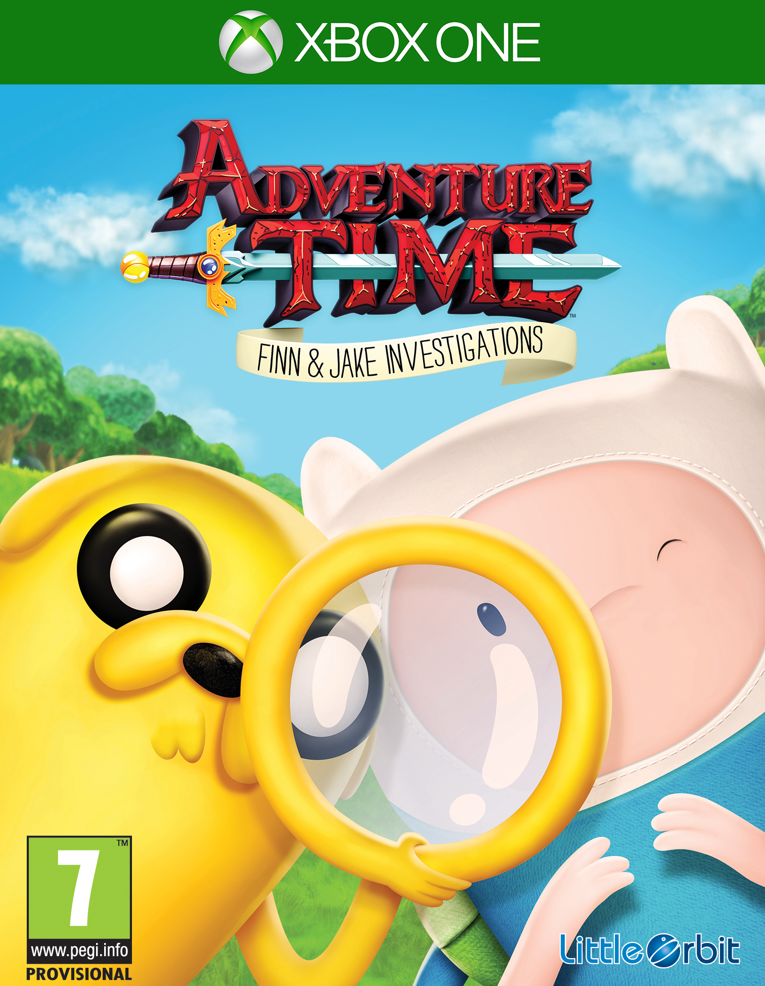 Box art - Adventure Time: Finn and Jake Investigations