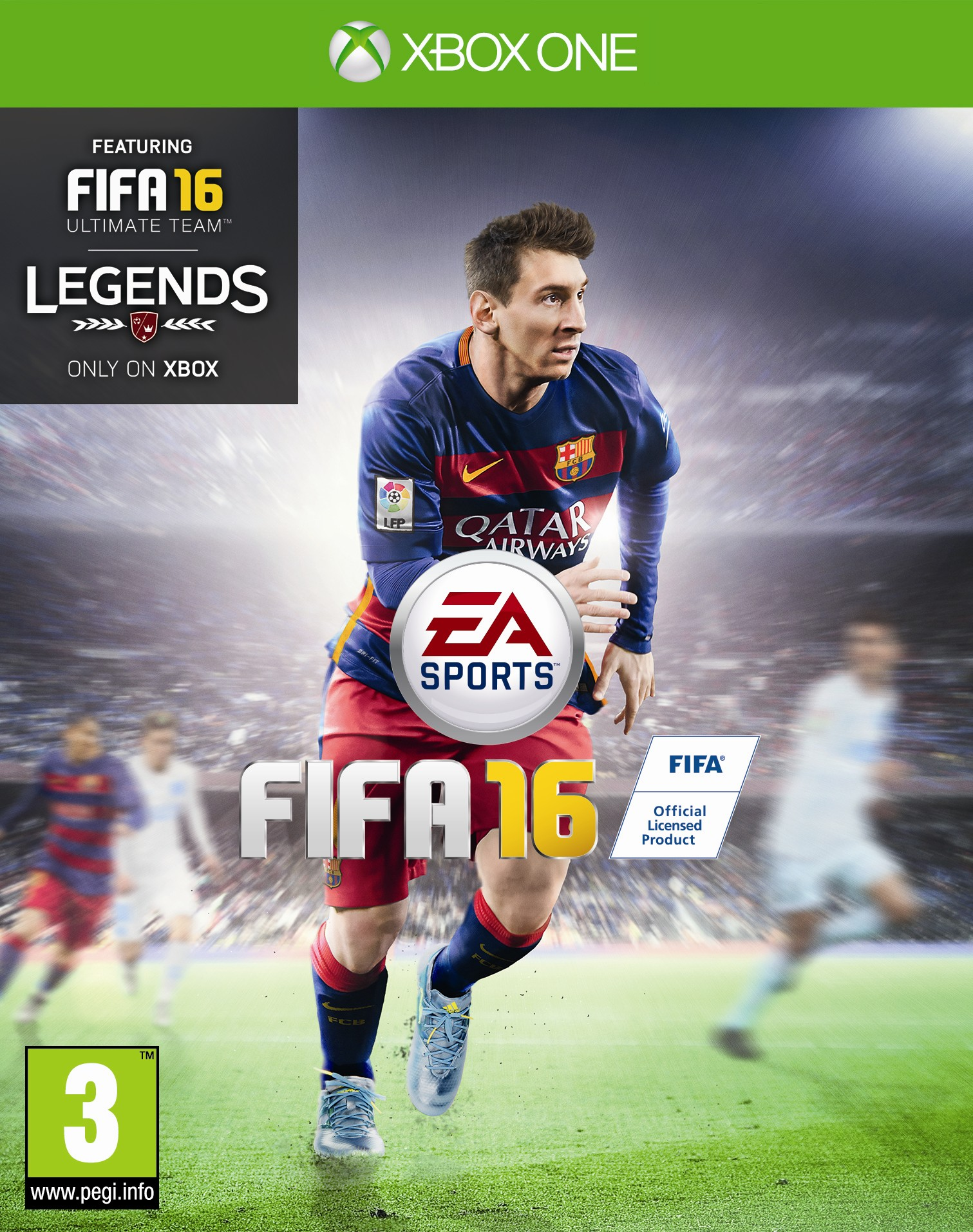 Box art - EA SPORTS FIFA 16