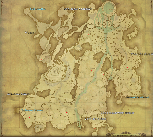 The Churning Mists - Final Fantasy XIV A Realm Reborn Wiki ...