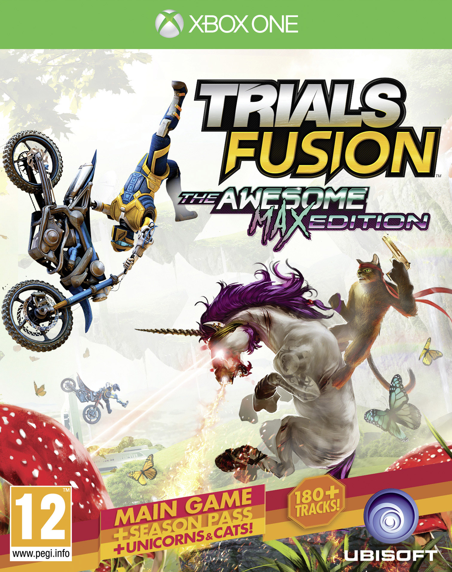 Box art - Trials Fusion: The Awesome Max Edition