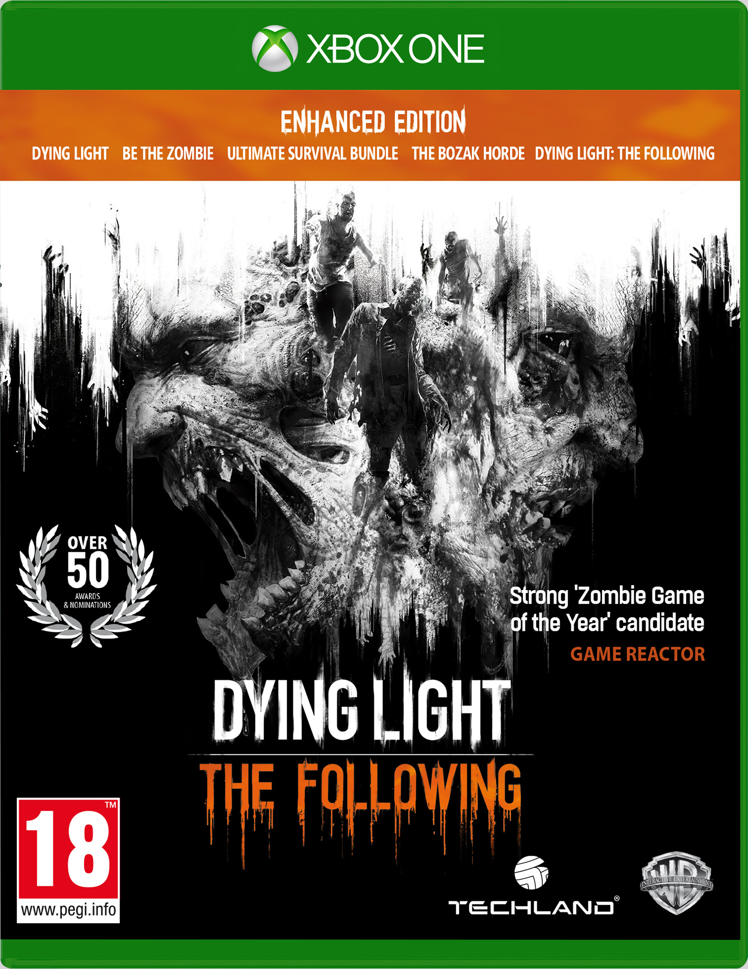 Box art - Dying Light: The Following