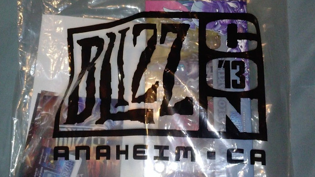 Blizzcon 2015 Messenger Goodie Goody Bag — Brand New From Blizzard Entertainment