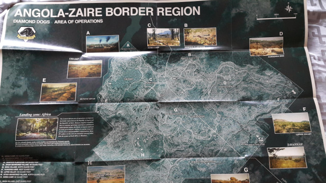 Metal Gear Solid V: The Phantom Pain Full Map of Angola Zaire
