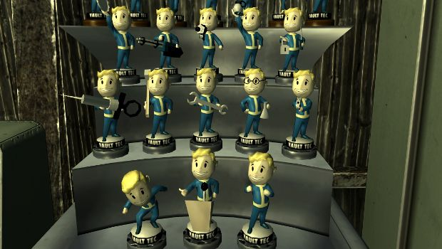 Bobbleheads provide either a permanent +1 bonus to a SPECIAL stat or a  permanent perk of some kind. This is one of the very few ways you can  upgrade your ...